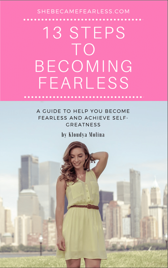 13 Steps to Becoming Fearless