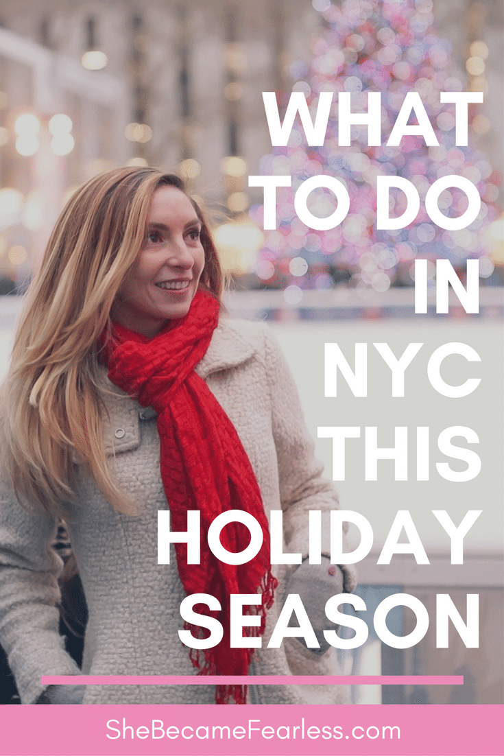 What To Do In New York City This Holiday Season