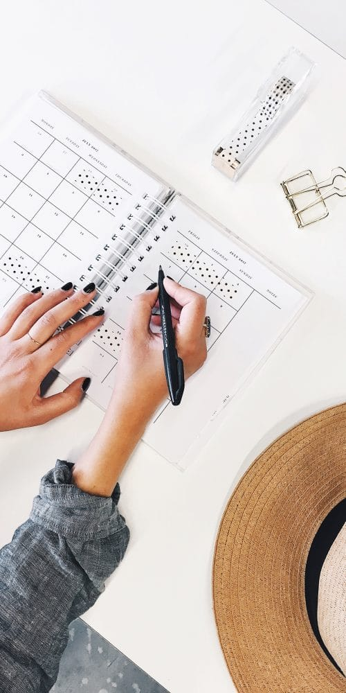 ways to get organized this year