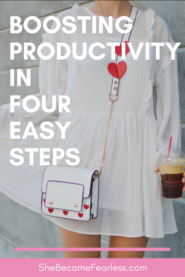 Boosting Productivity in Four Easy Steps